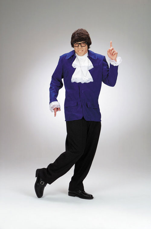 Austin Powers Costumes - Costumes For All Occasions DG5427 Austin Powers Standard