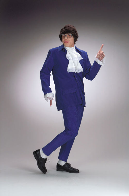 Austin Powers Costumes - Costumes For All Occasions DG5428 Austin Powers Costume Deluxe