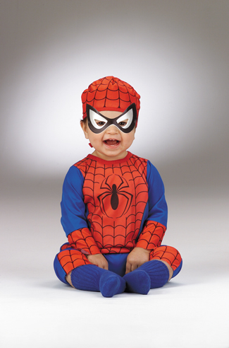 Infant Costumes - Costumes For All Occasions DG5455W Spiderman Infant 12 18 Months