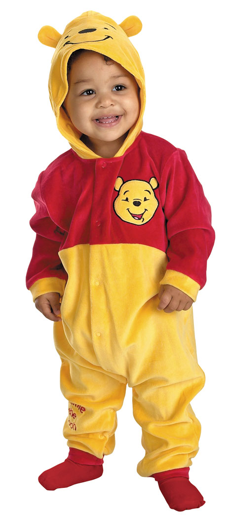 Costumes For All Occasions DG5490W Winnie The Pooh Inft 12 To 18M