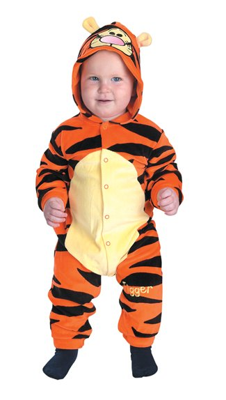 Costumes For All Occasions DG5498W Tigger Infant 12 18 Months