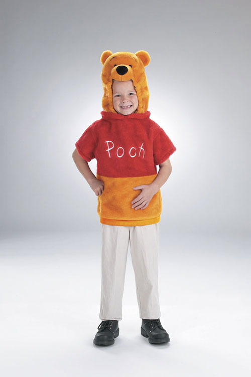 Costumes For All Occasions DG5618M Vest Winnie The Pooh 3T To 4T