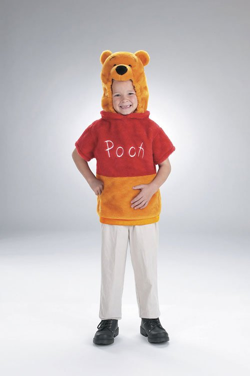 Costumes For All Occasions DG5618S Vest Winnie The Pooh 1 To 2
