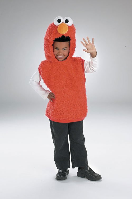 Elmo Costumes - Costumes For All Occasions DG5634L Elmo Vest 4 6