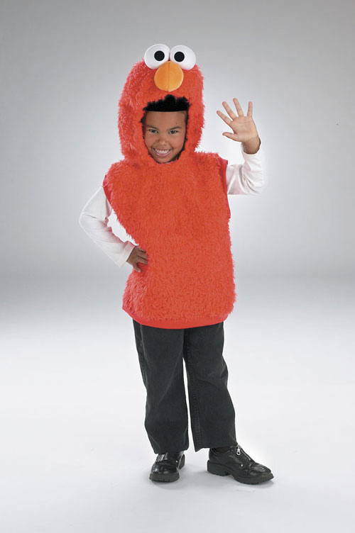 Elmo Costume - Costumes For All Occasions DG5634S Elmo Vest 1 2