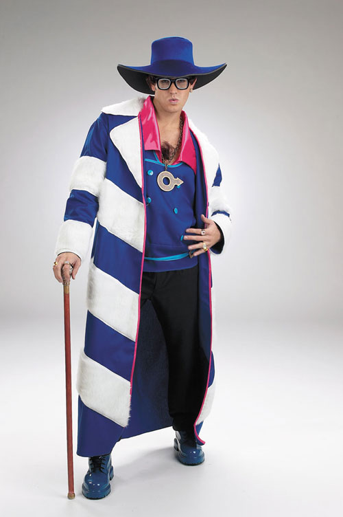 Austin Powers Costumes - Costumes For All Occasions DG5689 Austin Powers Gold Member Deluxe