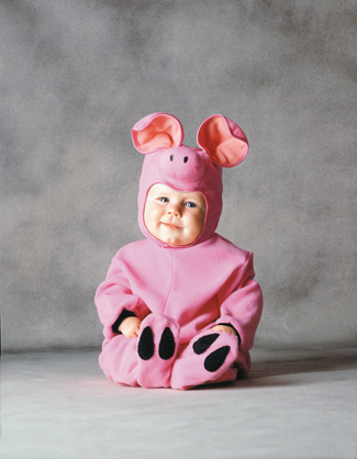 Tom Arma Costumes - Costumes For All Occasions DG5850W Tom Arma Pig 3 To 12 Months