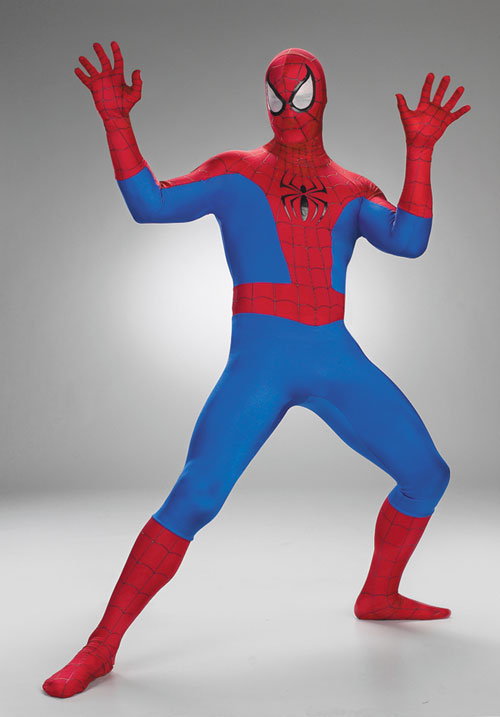 Costumes For All Occasions DG5907 Spiderman Deluxe Rental Quality MRRS4549