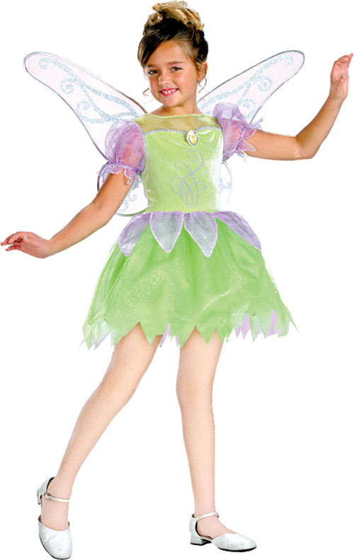 Tinkerbell Costume - Costumes For All Occasions DG6314K Tinkerbell Deluxe 7 To 8