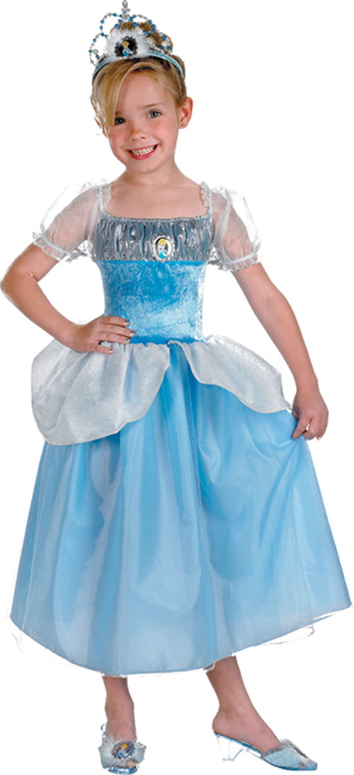 Cinderella Costume - Costumes For All Occasions DG6317M Cinderella Standard 3T 4T