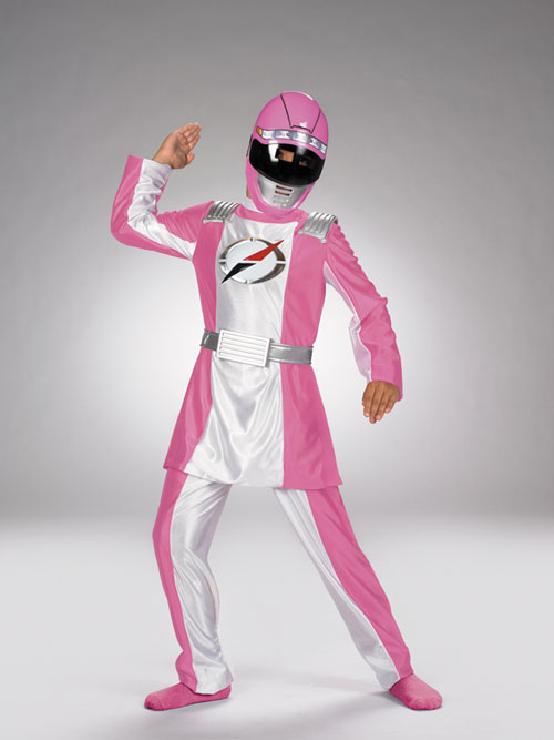 Power Ranger Costume - Costumes For All Occasions DG6554G Power Ranger Pink Deluxe Child