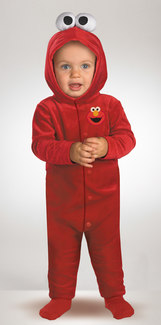 Elmo Costumes - Costumes For All Occasions DG6590I Elmo Tickle Me Newborn