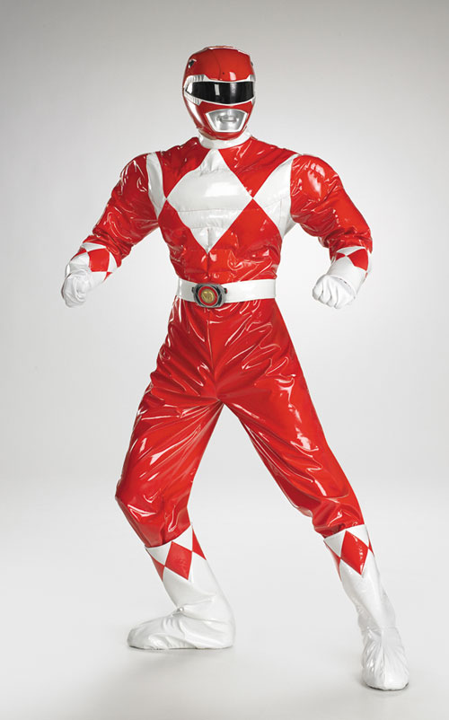 Power Ranger Costume - Costumes For All Occasions DG6823 Power Ranger Adult Muscle