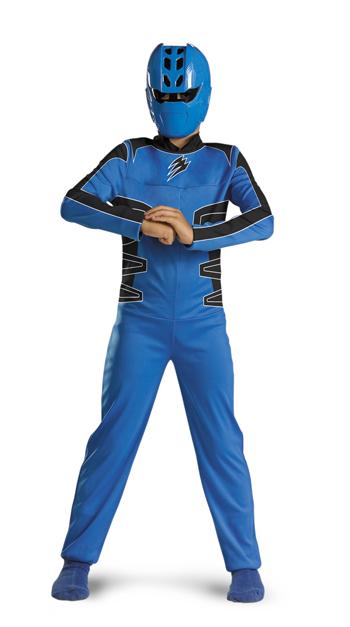Power Ranger Costume - Costumes For All Occasions DG6931K Power Ranger Blue Quality 7-8