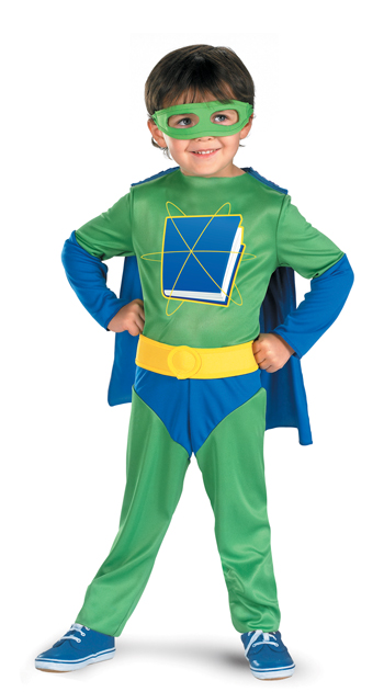 Costumes For All Occasions DG7205L Super Why 4 To 6 Child
