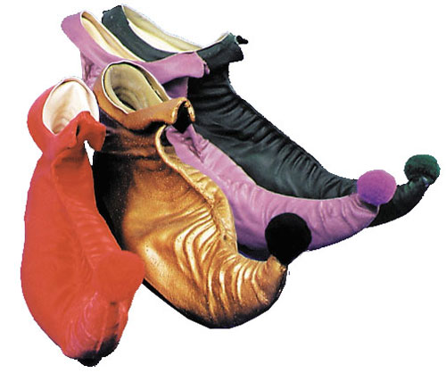 Elf Costume - Costumes For All Occasions DU927PR Elf Shoes Large Purple