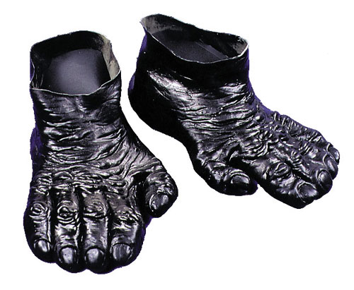 Image of Costumes For All Occasions DU972 Feet Gorilla