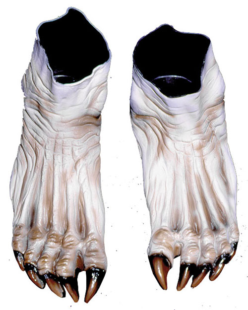 Image of Costumes For All Occasions DU973 Monster Feet Flesh