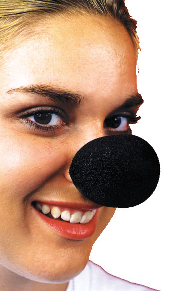 Animal Costumes - Costumes For All Occasions FA19 Nose Sponge Animal Black
