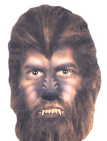 Werewolf Costumes - Costumes For All Occasions FA36 Nose Woochie Werewolf Large