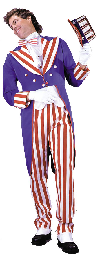 Costumes For All Occasions AA144LG Uncle Sam Adult Large