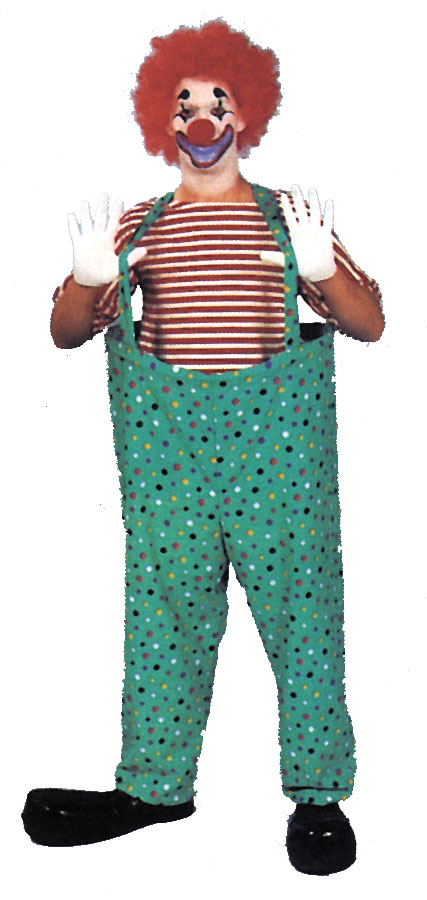 Costumes For All Occasions AA188 Hooped Clown Pants Set