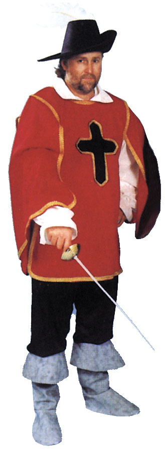 Costumes For All Occasions AA192 Cavalier Man