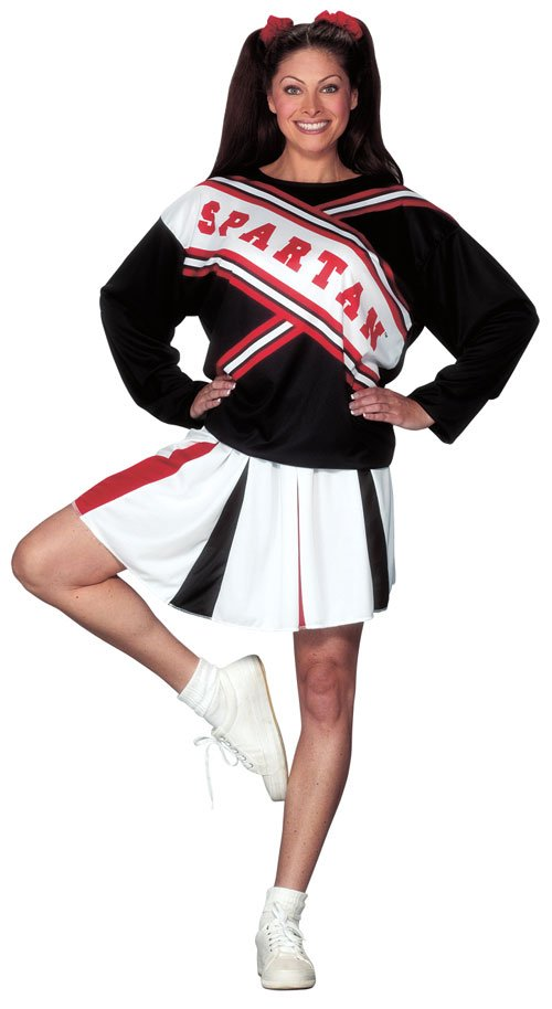 Cheerleader Costumes - Costumes For All Occasions FW100174 Cheerleader Spartan Girl