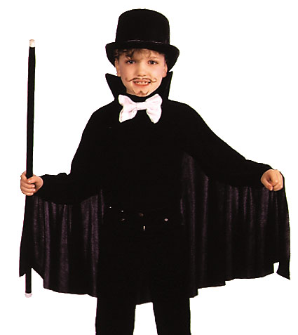 Costumes For All Occasions AA20BK Cape 26In Child Black