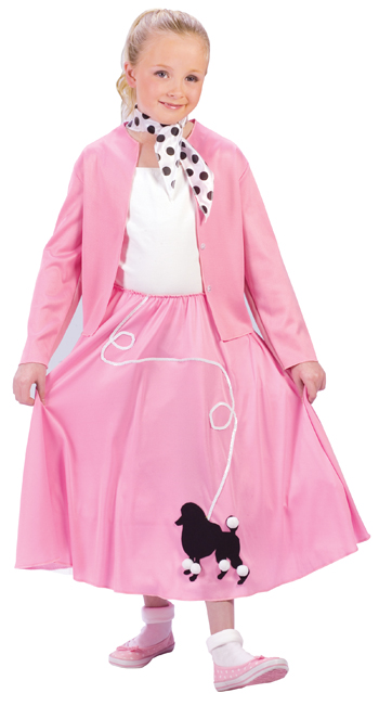 Grease Costumes - Costumes For All Occasions FW101172LG Grease Poodle Skrt Swtr Child L