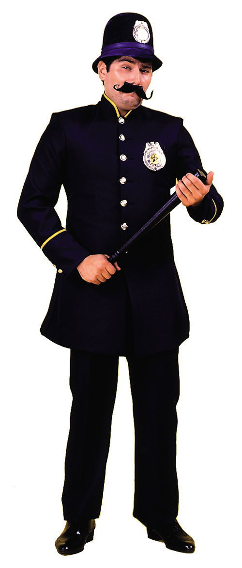 Costumes For All Occasions AA33LG Keystone Cop Costume Large MRRS626