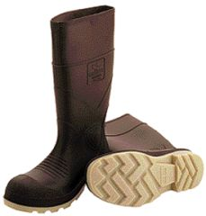 Tingley Rubber Pvc Knee Boot Plain Toe Brown 6 - 51144