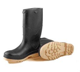 Tingley Rubber Stormtracks Youth Pvc Boot Black 1 - 11714
