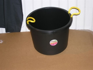 Fortex Industries All Purpose Bucket Black 40 Quart - 1304001