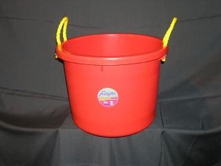 Fortex Industries All Purpose Bucket Red 40 Quart - 1304002