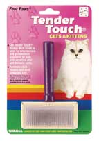 Four Paws Products Tender Touch Slicker Wire Brus - 00340