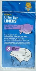 Booda Products Dome Clean Step Liner 8 Pack - 50415