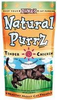 Zuke S Treat Natural Purz Moist Chicken 3 Ounces - 99551