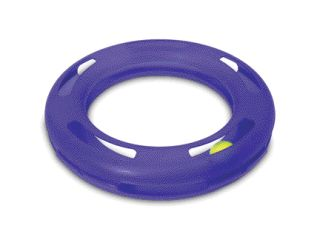 Booda Products Crazy Circle Cat Toy Lt Blue Large - 29393