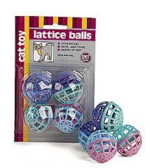 Ethical Cat Lattice Balls 4 Pack - 2914BL