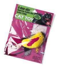 Ethical Cat A-door-able Plush Bird - 2475