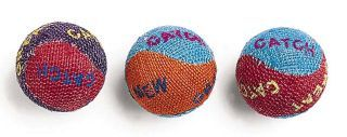 Ethical Cat Burlap Cat Balls 3 Pack - 2089
