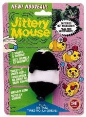 Ethical Cat Plush Jittery Mouse - 2100 BCI02589
