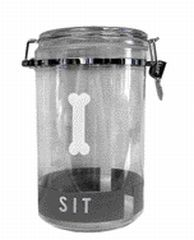 Doskocil Treat Jar Clear 67 Ounces - 24701