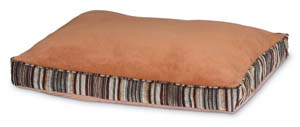 Doskocil  Antimicrobial Deluxe Pillow Brown 27x36 - 27480