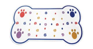 Ethical Products Classic Paw Print Place Mat 6741