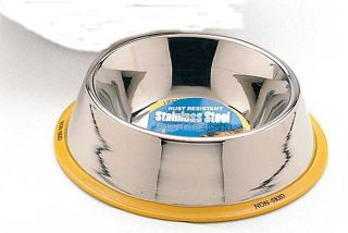 Ethical Ss Dishes Stnls Stl No Tip Dog Dish 64 Ounces - 6038