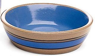 Ethical Stoneware Dish Striped Stoneware 5x2 Inch - 6119