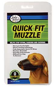 Four Paws Products Quick Fit Muzzle Size 0 - 59000