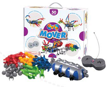 Infinitoy INF12060 Zoobmover Power Building Set